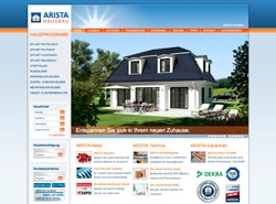 Hausbau CMS Website